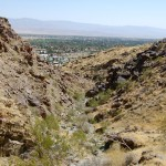 View of Palm Springs from the Araby Trail.