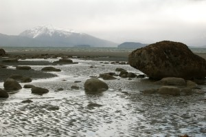 Bishop Beach on Kachemak Bay in Homer, Alaska