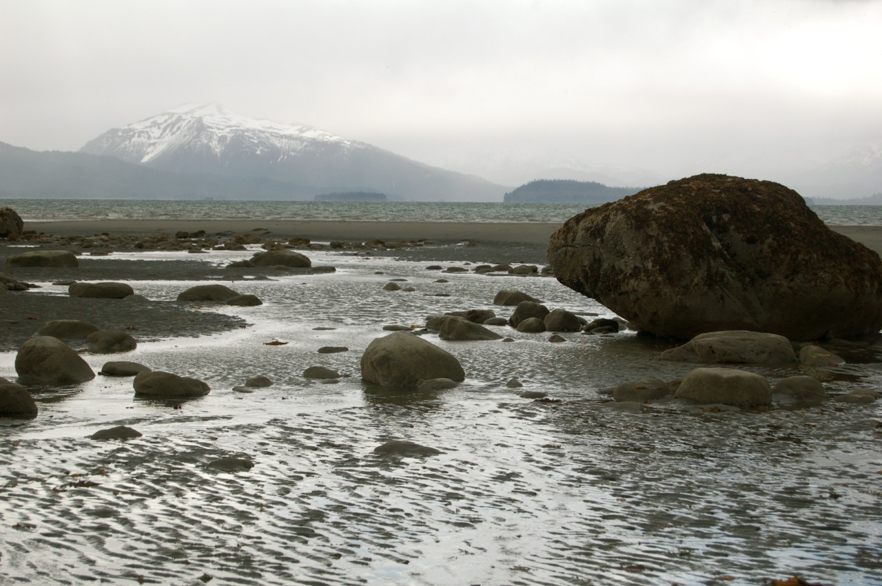 Bishop Beach on Kachemak Bay in Homer, Alaska