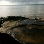 Shore of island near Papageno Resort.