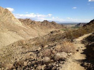 Lake to Cove Trail in La Quinta