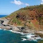 View from the Kilauea National Wildlife Refuge