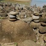 Rock formations at Hanakapi'ai Beach