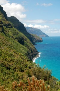 View of the Na Pali Coast