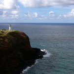 View of the Kilauea Lighthouse