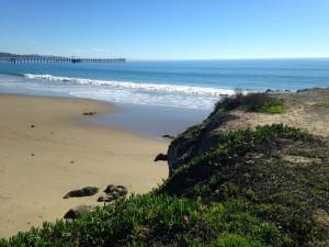 Pacific Ocean at Goleta Beach Park