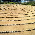 Labyrinth near the UCSB Lagoon