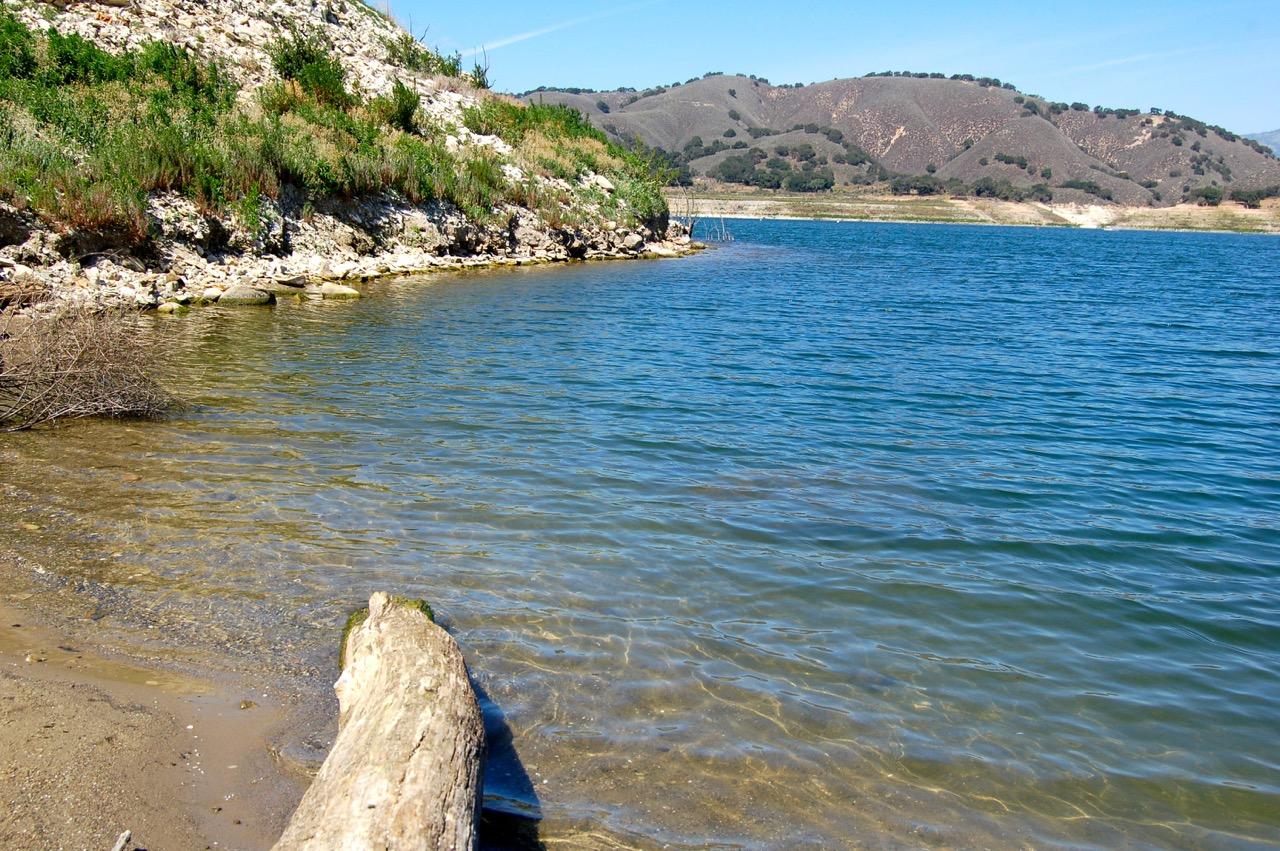 Sweetwater trail cachuma lake california brian 39 s hikes for Cachuma lake fishing