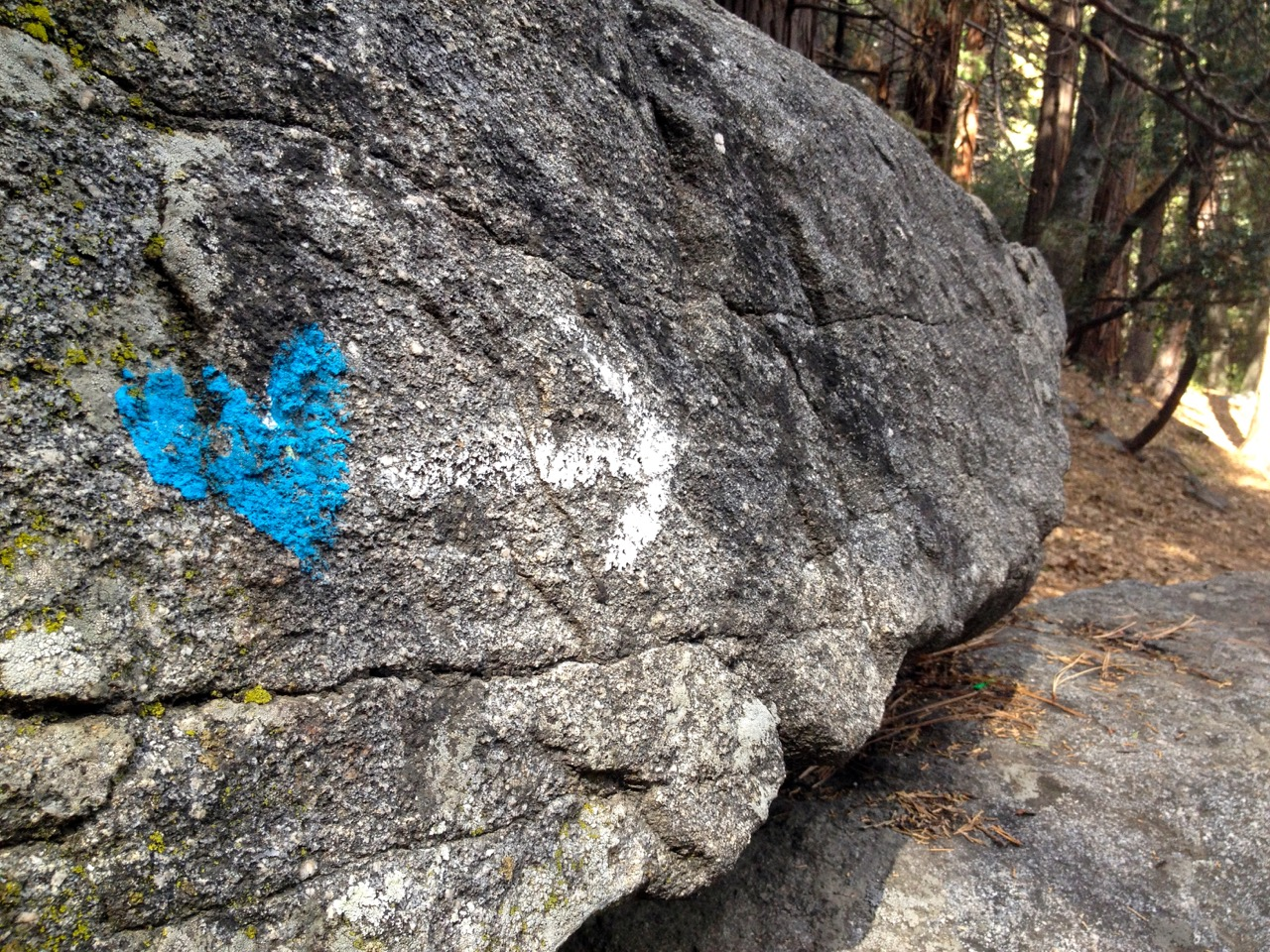 Heart Rock Trail – Crestline, California