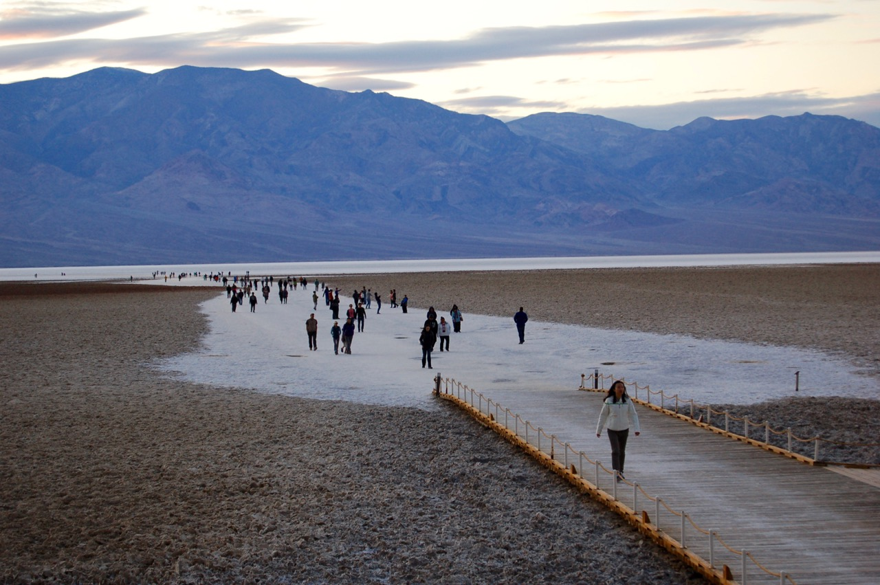 badwater basin death valley national park california brian s hikes