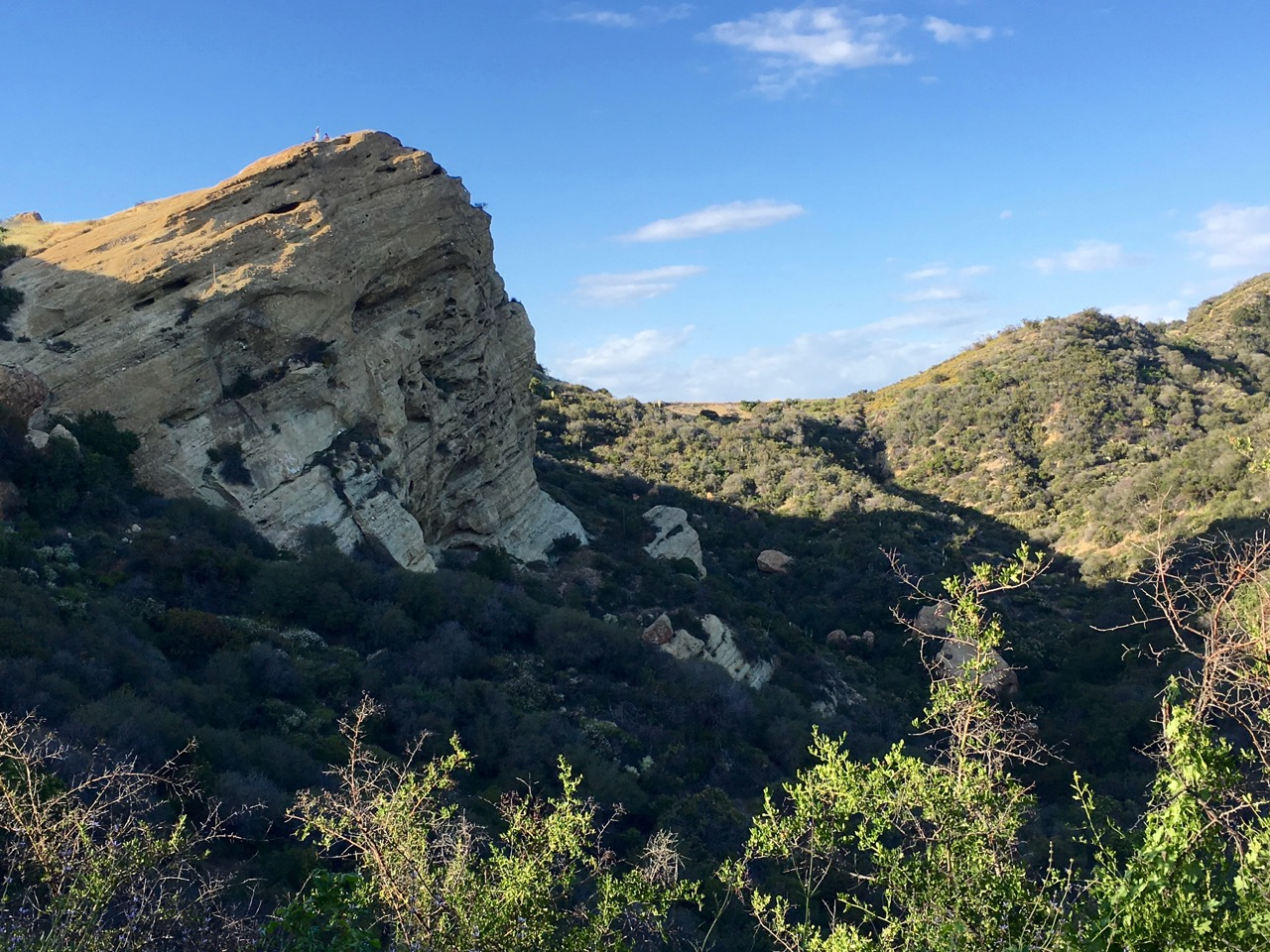 Musch Trail to Eagle Rock – Topanga State Park, California