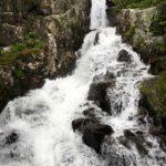 Continental Falls on Lower Mohawk Lake Trail near Breckenridge
