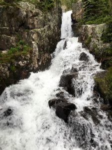 Continental Falls on Lower Mohawk Lake Trail near Breckenridge