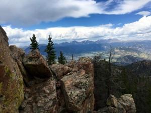 Estes Cone Trail near Estes Park, Colorado