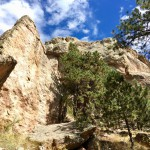 Arthur's Rock Trail, Lory State Park, west of Fort Collins, Colorado