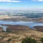 View of Horsetooth Reservoir from Arthur's Rock Trail, Lory State Park, west of Fort Collins, Colorado