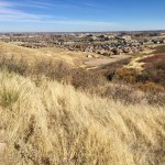 Bluffs Regional Park Trail near Lone Tree, Colorado