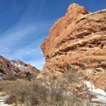 Trading Post Trail at Red Rocks Park in Morrison, Colorado