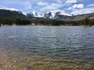 Sprague Lake Trail, Rocky Mountain National Park, Colorado