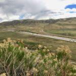 View of C-470 from the Dinosaur Ridge Trail near Morrison, Colorado