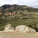 View looking west from the Dakota Ridge Trail near Morrison, Colorado