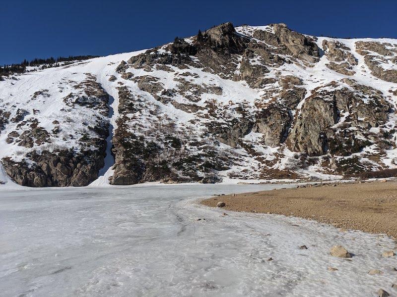 St. Mary's Glacier near Idaho Springs, Colorado