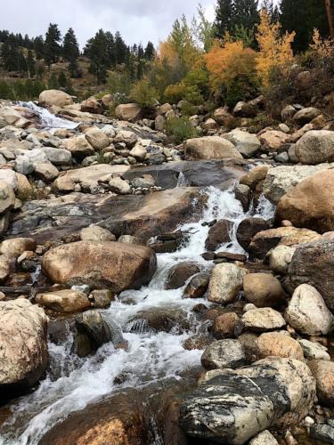 Alluvial Fan trail in Rocky Mountain National Park.