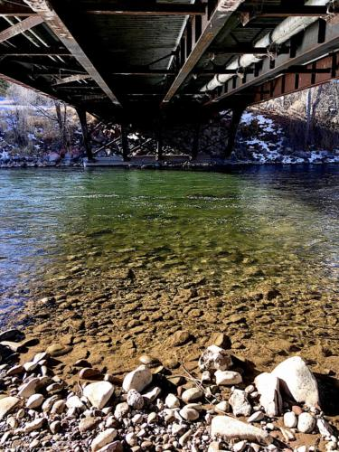 8th Street Bridge over the Roaring Fork River, Glenwood Springs, Colorado