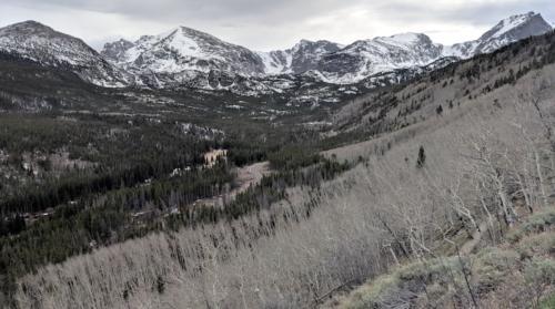 Bierstadt Lake Trail in Rocky Mountain National Park.