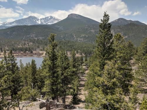Lily Lake Ridge Trail in Rocky Mountain National Park