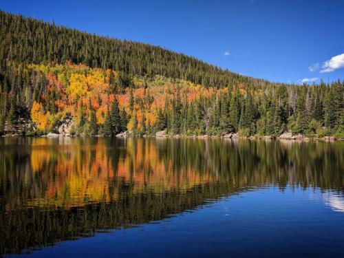 Bear Lake in Rocky Mountain National Park.