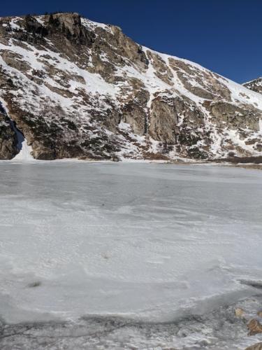 St. Mary's Glacier near Idaho Springs, Colorado.